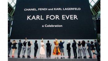 Karl for ever , ο κόσμος της μόδας τίμησε τον Karl Lagerfeld