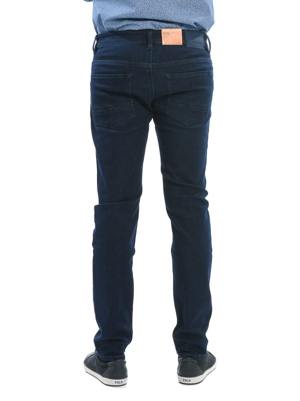 BOSS ΠΑΝΤΕΛΟΝΙ JEANS ORANGE90 TAPERED FIT SUPERSTRETCH ΜΠΛΕ