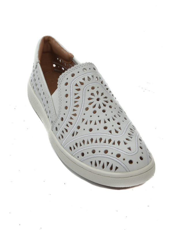 UGG LOAFERS CAS PERF  ΛΕΥΚΟ