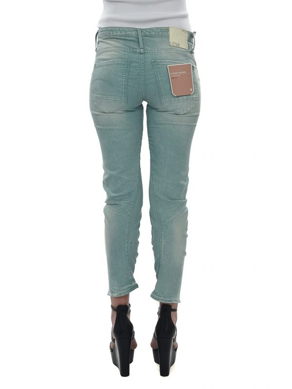 G-STAR ΠΑΝΤΕΛΟΝΙ JEANS ARC 3D KATE TAPERED ΠΡΑΣΙΝΟ