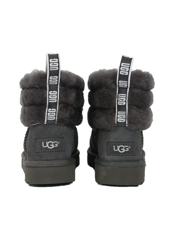 UGG ΠΑΠΟΥΤΣΙΑ FLUFF MINI QUILTED ΓΚΡΙ