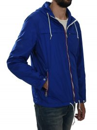 RALPH LAUREN ΜΠΟΥΦΑΝ ANORAK JACKET COLLEGE ΡΟΥΑ ΜΠΛΕ