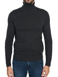 BOSS CASUAL ΠΛΕΚΤΟ TURTLENECK KUPETTO ΓΚΡΙ