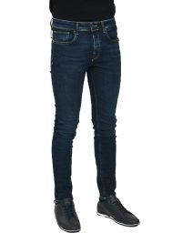SELECTED ΠΑΝΤΕΛΟΝΙ JEANS SKINNY PETE ΜΠΛΕ