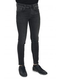 SELECTED ΠΑΝΤΕΛΟΝΙ JEANS SKINNY FIT STRETCH DENIM ΓΚΡΙ