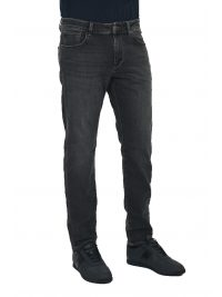 SELECTED ΠΑΝΤΕΛΟΝΙ JEANS STRAIGHT  FIT STRETCH DENIM ΓΚΡΙ