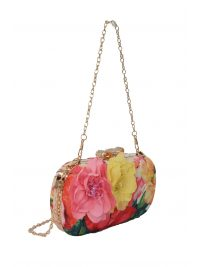 ALLURE ΤΣΑΝΤΑ CROSSBODY SMALL FLORAL ΡΟΖ