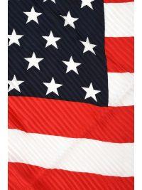 RALPH LAUREN ΦΟΥΛΑΡΙ AMERICAN FLAG ΚΟΚΚΙΝΟ ΜΠΛΕ