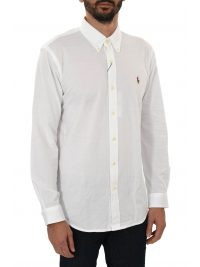RALPH LAUREN ΠΟΥΚΑΜΙΣΟ BUTTON DOWN OXFORD  ΛΕΥΚΟ