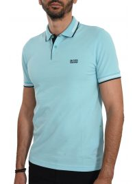 BOSS ATHLEISURE POLO SLIM FIT PAUL STRETCH ΒΕΡΑΜΑΝ