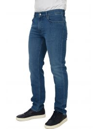 BOSS BUSINESS ΠΑΝΤΕΛΟΝΙ JEANS MAINE BA-C REGULAR FIT STRETCH  ΜΠΛΕ
