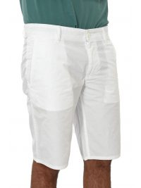 BOSS CASUAL ΒΕΡΜΟΥΔΑ CHINO SCHINO-REGULAR SHORT ΛΕΥΚΟ