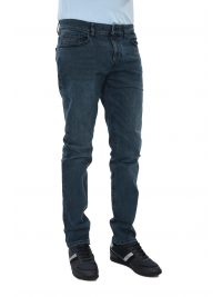 BOSS CASUAL ΠΑΝΤΕΛΟΝΙ JEANS DELAWARE-BC-L-C CATCH SLIM FIT STRETCH ΜΠΛΕ