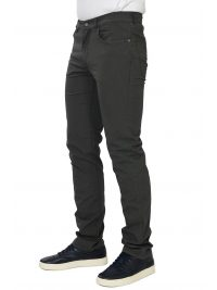 TRUSSARDI JEANS ΠΑΝΤΕΛΟΝΙ 5ΤΣΕΠΟ 380 ICON GARMENT DYED ΑΝΘΡΑΚΙ