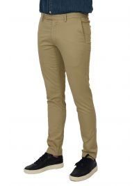 RALPH LAUREN ΠΑΝΤΕΛΟΝΙ CHINO STRETCH SLIM FIT  ΜΠΕΖ