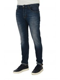UNIFORM ΠΑΝΤΕΛΟΝΙ JEANS BARNEY REGULAR SLIM ΜΠΛΕ