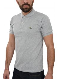 LACOSTE POLO CLASSIC FIT ΑΝΟΙΧΤΟ ΓΚΡΙ
