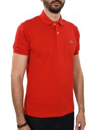 LACOSTE POLO CLASSIC FIT ΚΟΚΚΙΝΟ