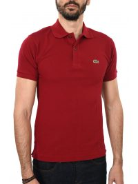 LACOSTE POLO CLASSIC FIT ΜΠΟΡΝΤΩ