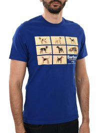 BARBOUR T-SHIRT PEDIGREE ΡΟΥΑ ΜΠΛΕ