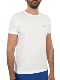 GANT T-SHIRT THE ORIGINAL ΛΕΥΚΟ