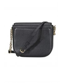 MICHAEL KORS ΤΣΑΝΤΑ CROSSBODY HALF DOME ΜΑΥΡΟ