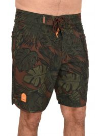 SUPERDRY ΜΑΓΙΩ DEEP WATER BOARDSHORT ΧΑΚΙ