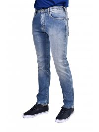 EMPORIO ARMANI ΠΑΝΤΕΛΟΝΙ JEANS J45 REGULAR FIT DENIM ΜΠΛΕ