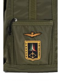 AERONAUTICA MILITARE ΤΣΑΝΤΑ BACKPACK ZANETTO FRECCE TRICOLORI ΧΑΚΙ