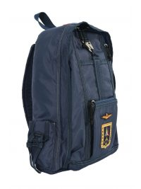 AERONAUTICA MILITARE ΤΣΑΝΤΑ BACKPACK ZANETTO FRECCE TRICOLORI ΜΠΛΕ