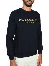 PAUL&SHARK ΦΟΥΤΕΡ LOGO ΜΠΛΕ
