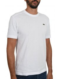 LACOSTE T-SHIRT ULTRA DRY ΛΕΥΚΟ