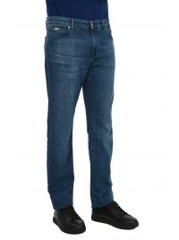 BOSS BUSINESS ΠΑΝΤΕΛΟΝΙ JEANS MAINE3 REGULAR FIT CANDIANI DENIM ΜΠΛΕ