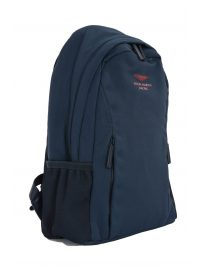 HACKETT ΤΣΑΝΤΑ BACKPACK LOGO ASTON MARTIN CAPSULE AMR ΜΠΛΕ
