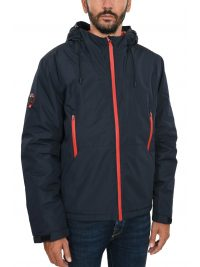 SUPERDRY ΜΠΟΥΦΑΝ PADDED ELITE JACKET ΜΠΛΕ
