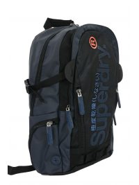 SUPERDRY ΤΣΑΝΤΑ BACKPACK CAMO FADE TARP ΜΠΛΕ