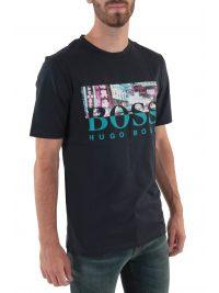 BOSS CASUAL T-SHIRT TREK 4 ΜΠΛΕ