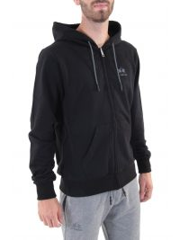 LA MARTINA ΦΟΥΤΕΡ REGULAR FIT FULL ZIP HOODED ΜΑΥΡΟ