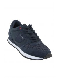 HACKETT  ΠΑΠΟΥΤΣΙΑ SNEAKERS EYELET TRAINERS ΜΠΛΕ