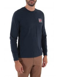 BARBOUR INTERNATIONAL T-SHIRT STEVE MC QUEEN TEAM ΜΠΛΕ
