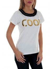 RELISH T-SHIRT COLLME  COOL ΛΕΥΚΟ