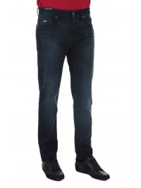 BOSS CASUAL ΠΑΝΤΕΛΟΝΙ JEANS MAINE BC-L-P DROM REGULAR FIT SUPER STRETCH DENIM ΜΠΛΕ
