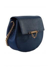 JUICY COUTURE ΤΣΑΝΤΑ CROSSBODY MINI-J ΜΠΛΕ
