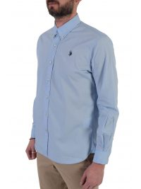 U.S. POLO ASSN ΠΟΥΚΑΜΙΣΟ BUTTON DOWN REGULAR FIT KUSTAVI ΣΙΕΛ