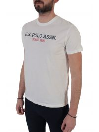 U.S. POLO ASSN T-SHIRT INSTITUTIONAL ΛΕΥΚΟ