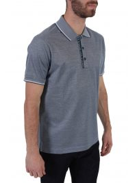 PAUL&SHARK POLO LOGO DOUBLE MERCERIZED ΓΑΛΑΖΙΟ