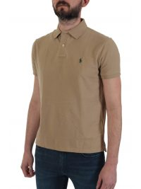RALPH LAUREN POLO CUSTOM SLIM FIT  ΜΠΕΖ