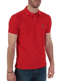 RALPH LAUREN POLO CUSTOM SLIM FIT  ΚΟΚΚΙΝΟ