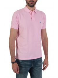 RALPH LAUREN POLO CUSTOM SLIM FIT  ΡΟΖ