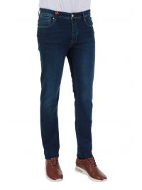 AT.P.CO ΠΑΝΤΕΛΟΝΙ JEANS SUPERIOR LOOK & SOUL DAVE 362 DENIM ΜΠΛΕ